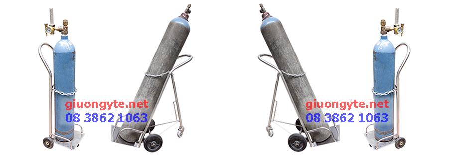 xe đẩy bình oxy