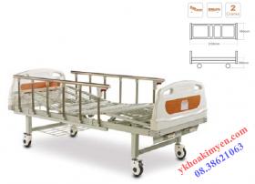 Giường bệnh nhân 2 tay quay Aolike ALK06 - A238P
