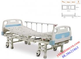 Giường bệnh 3 tay quay, 2 cách cố định ALK06-A326P