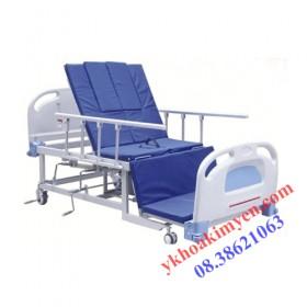 Giường bệnh khoét lỗ 4 góc nâng UCK-405S32