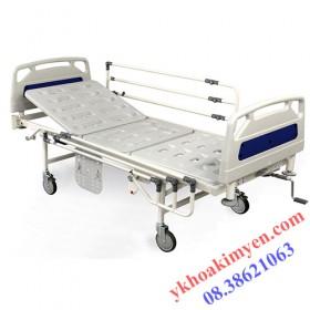 Giường bệnh nhân 1 tay quay 22000m (piyavar - malaysia)
