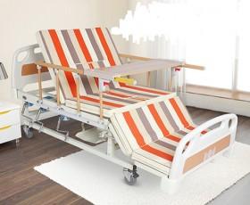 Giường bệnh nhân đa chức năng 4 tay quay DP-E05