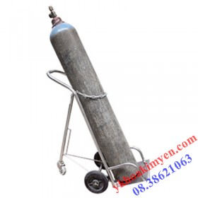 Xe đẩy bình oxy 6 khối