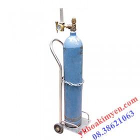 Xe đẩy bình oxy 2 khối